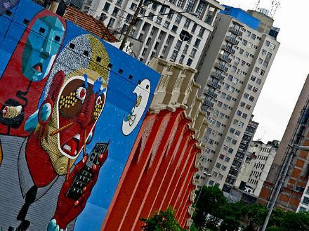 ブラジルのストリートアーティスト:Nunca(ヌンカ)