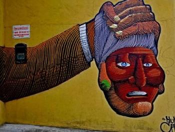 Nunca street art