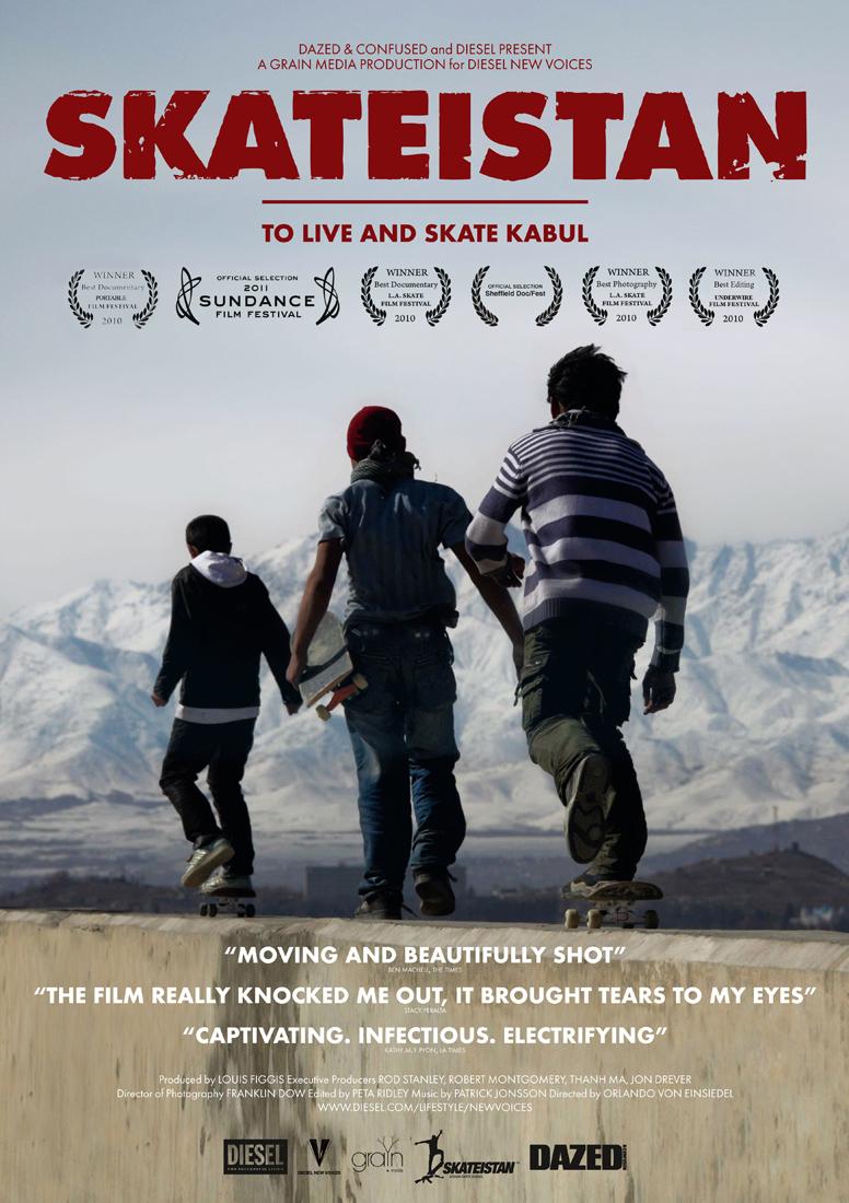 アフガニスタンのスケートボードスクールのドキュメンタリー映画:スケーティスタン