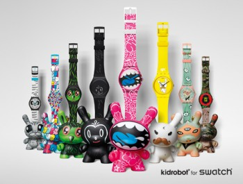 Swatch Kidrobot