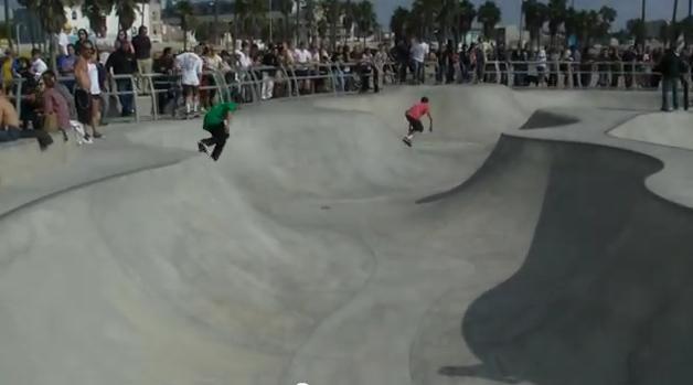 カリフォルニア・ベニスビートのスケートパーク