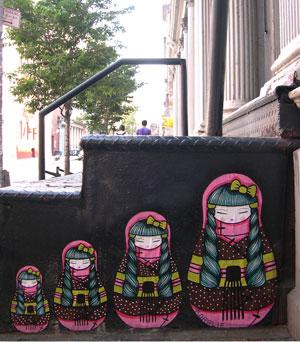 コラリーのストリートアート