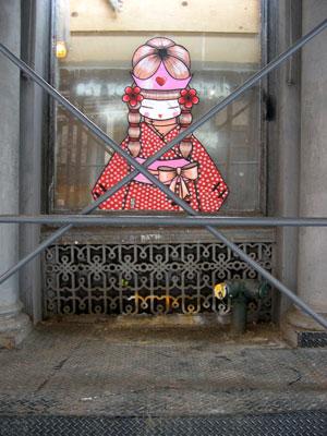 ストリートアーティスト・イラストレーター:Koralie(コラリー)
