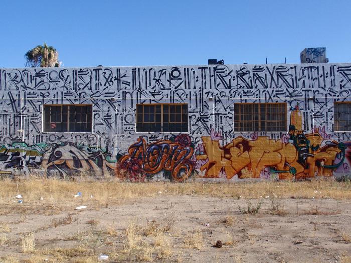 ロサンゼルスのグラフィティーアートとストリートアートの写真集レポート