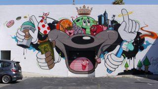 dabsmyla(ダブズ・マイラ) ストリートアート作品