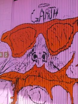 garth  ストリートアート作品