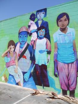 カルバーシティー・ローカルのストリートアート