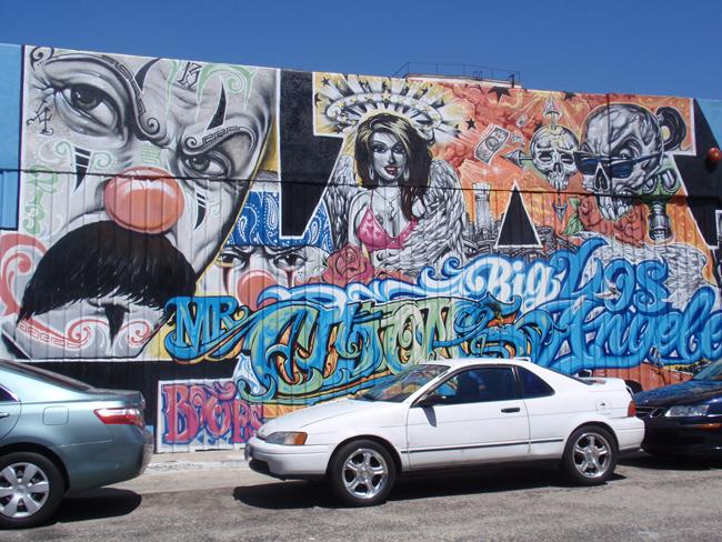 ストリートスタイル in L.A アートツアー