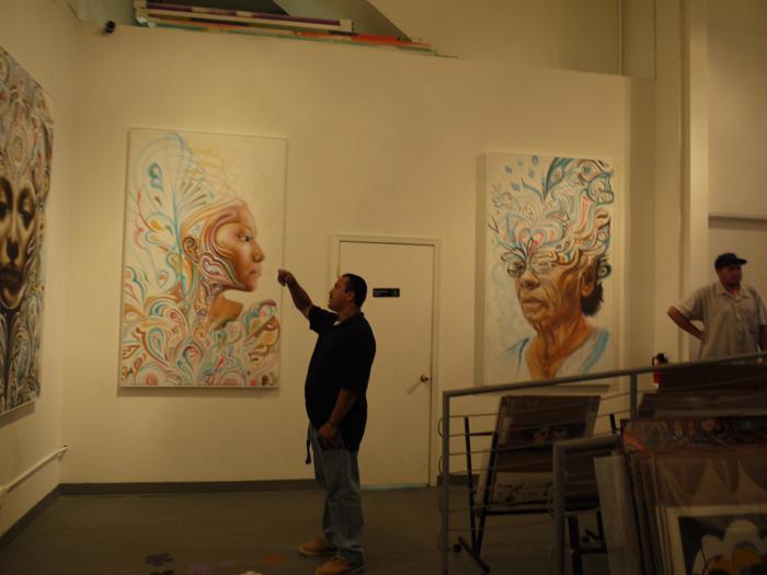ロサンゼルスのストリートアートイベントレポート:グラフィティー系アーティスト WERC@Crewest Gallery