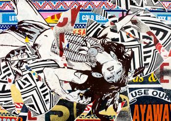 ストリートアートクルー:FAILEの作品