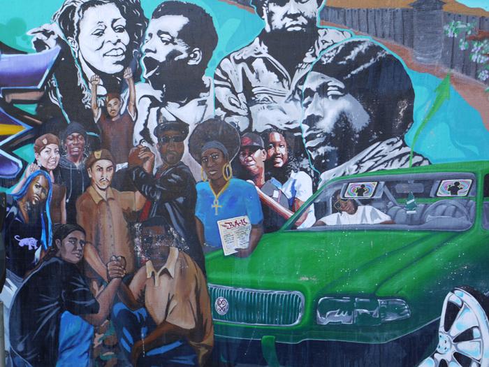 サンフランシスコ・ストリートミューラルレポート:アメリカのストリートアート紹介