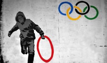 オリンピックストリートアート:Criminal Chalkist