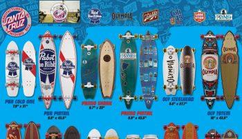 Santa Cruz(サンタクルーズ)のスケートボードアート