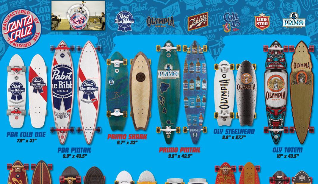 Santa Cruz(サンタクルーズ)のスケートボードデッキのアートコレクション動画