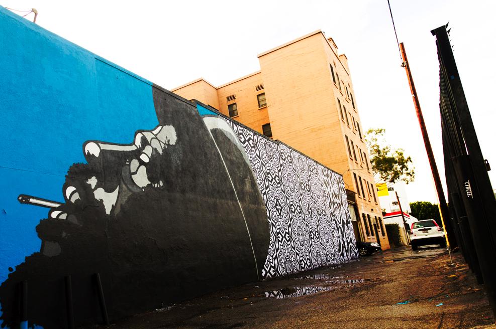ロサンゼルスのアーティストDAVID FLORES(デイビッド・フローレス)のインタビュー紹介