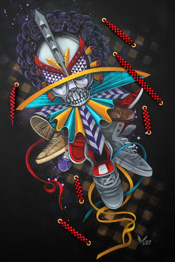 ロサンゼルスで活躍するストリート系アーティストMarkaのインタビュー紹介