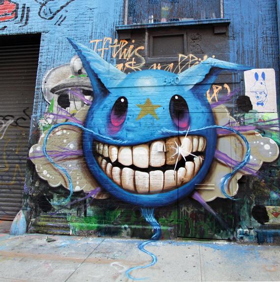 ベアブリックでお馴染みのポップアート・ストリートアートのマスター:ジェフ・ソト(Jeff Soto)