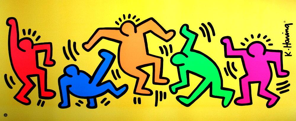 ポップアートレジェンド:キース・ヘリング(Keith Haring)の歴史