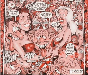 アンダーグラウンドコミックのパイオニア:ジェイ・リンチ