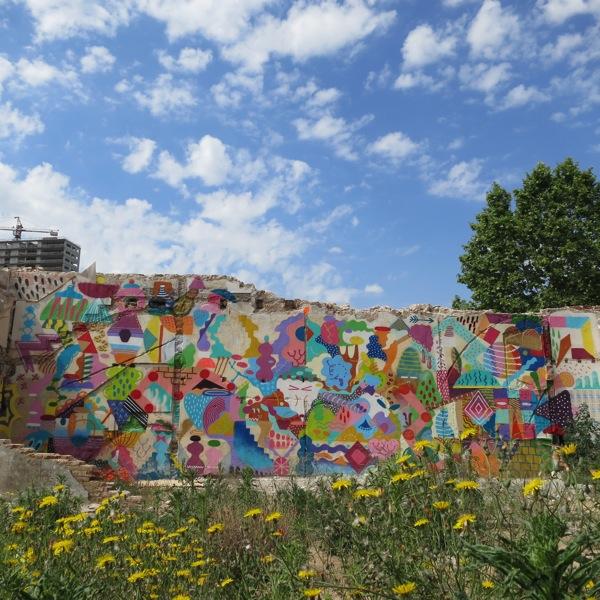 スペインを拠点に活動しているストリート・ミューラルアーティスト ZOSEN&Mina Hamadaのインタビュー