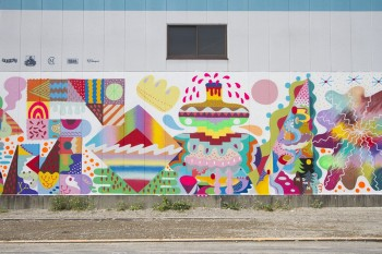 Zosen&Mina Mural Arts In Japan