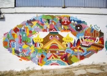 Zosen&Mina Mural Arts