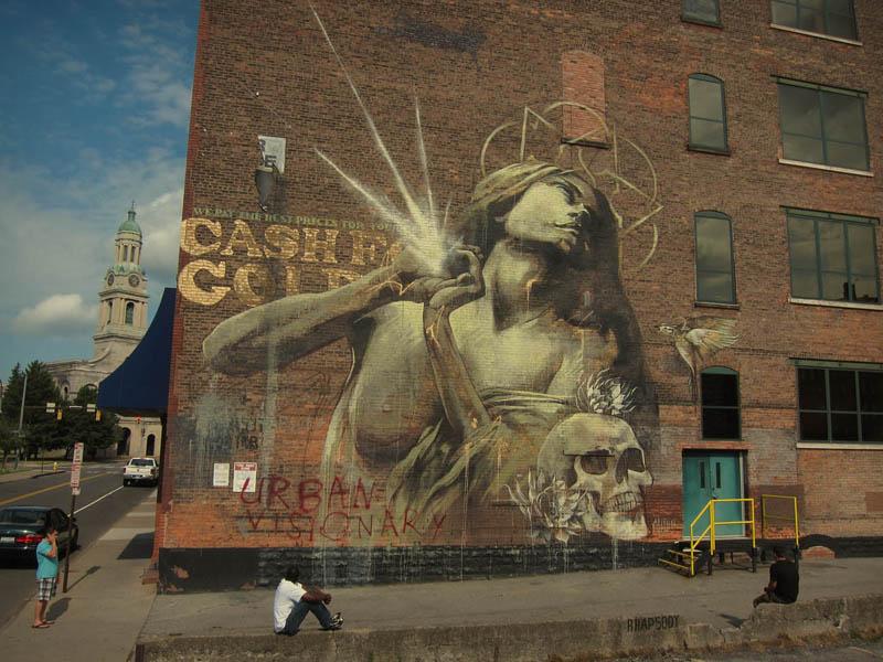 南アフリカ人のストリートアーティスト・Faith47の独占インタビュー