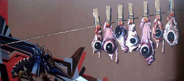 ドイツのグラフィティーアート集団:Maclaimの作品